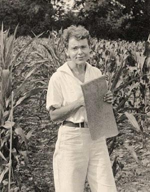 Barbara McClintock's World :: Weed to Wonder